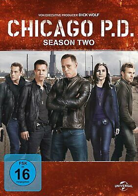 Chicago P.D. - Die komplette Season/Staffel 2 # 6-DVD-BOX-NEU