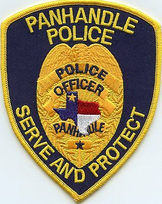 Panhandle Texas Tx Police Patch