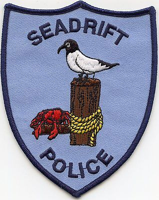 Seadrift Texas Tx Police Patch