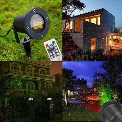 etanche led lampe projecteur laser lumi re pr pelouse jardin d co no l ext rieur eur 32 95. Black Bedroom Furniture Sets. Home Design Ideas