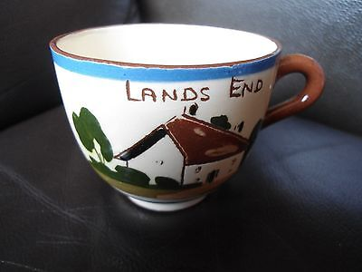Royal Watcombe Lands End Motto Ware Tea Cup Take A Cup Of Tea Vintage Ag8