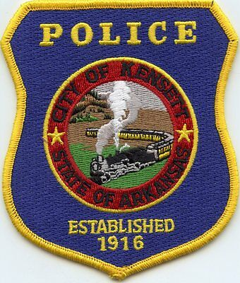 KENSETT ARKANSAS AR train POLICE PATCH