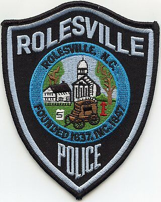 Rolesville North Carolina Nc Police Patch