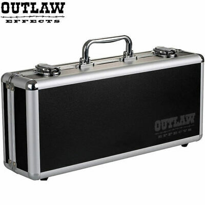 Outlaw Effect Pedal Board Flight Case inc 9V DC Power Supply + Daisy Chain