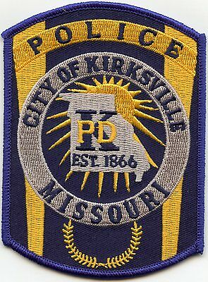 Kirksville Missouri Mo Police Patch