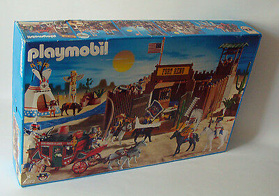 Playmobil 4072 - Wild West Fort 4+ - Neu