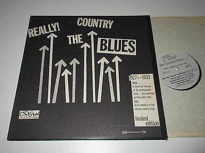 LP/REALLY COUNTRY THE BLUES/JOHNSON/MOORE/HOUSE/Origin OJL-2 Limited Edition