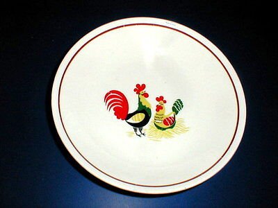 Eastern China/Steubenville Rooster FAMILY AFFAIR Soup Bowl/s (loc-24)