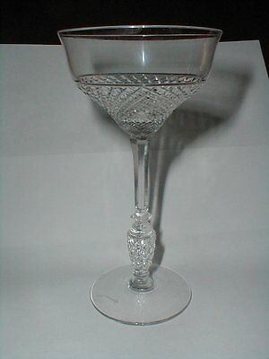 Libbey Rock Sharpe Crystal #1018 TEMPO Champagne Goblet/Tall Sherbet