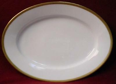 Royal Bayreuth GOLD ENCRUSTED rob146 OVAL MEAT PLATTER