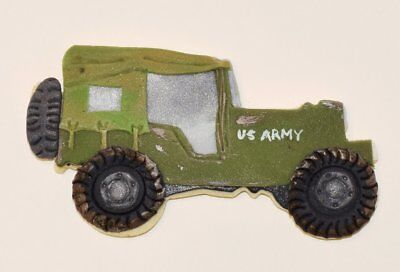 """Military Truck Jeep 4x4  Cookie Cutter 4.25"""""""
