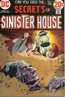 Secrets of Sinister House Comic Book #11, DC Comics 1973 VERY FINE