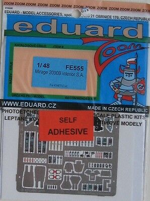 Eduard 1/48 FE555 Colour Zoom etch for the Kinetic Mirage 2000B