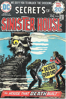 Secrets of Sinister House Comic Book #18, DC Comics 1974 VERY GOOD/VERY GOOD+