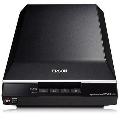 Epson Perfection V550 Photo Scanner Piano A4 Usb In