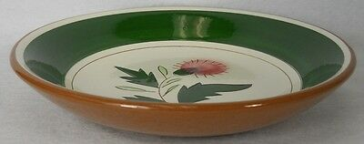 """STANGL china THISTLE pattern Coupe Soup or Salad Bowl - 7-3/4"""""""