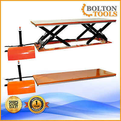 Bolton Tools Remote Control Electric Hydraulic Lift Table 6600 lb ETYY3001