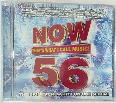 NOW That's What I Call Music! Vol. 56 CD By Various Artists 2015 >NEW<