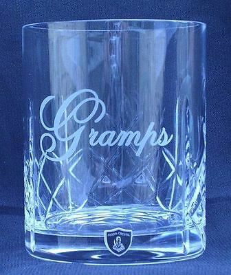 Gramps Gift Lead Crystal whisky Glass in gift box