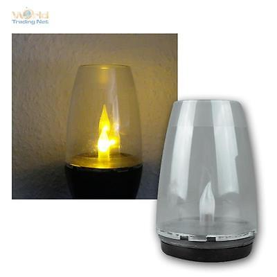 3in1 Solar Outdoor light LED Ground spike IP44 Fire Effect, Lamp Candle