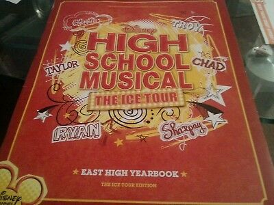 HIGH SCHOOL MUSICAL THE ICE TOUR PROGRAMME-WITH SOUND(works) INCLUDED INSIDE