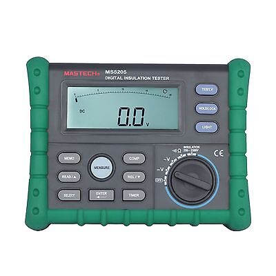 MASTECH MS5205 Digital Megger Insulation Tester Resistance Meter Multimeter