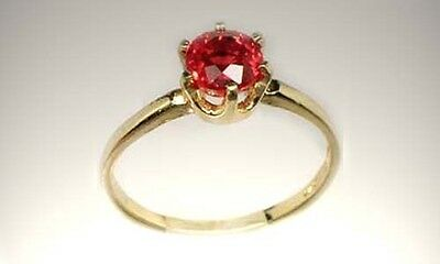 19thC Antique 1½ct Ruby Gem Ancient Greece Rome Theophratus Plato Pliny Heraclea