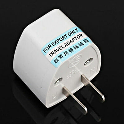 1X Universal EU UK AU to US USA AC Travel Power Plug Adapter Outlet Converter