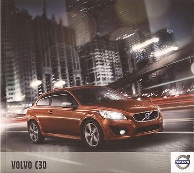 2012 12 Volvo C30 original sales brochure Mint