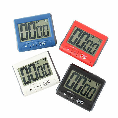 Digital Lcd Screen Magnetic Clock Count Down Timer Cook Alarm Kitchen