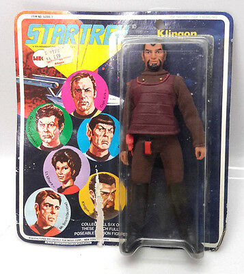 1970s Star Trek MEGO Klingon Action Figure- CARDED  (C-6363)