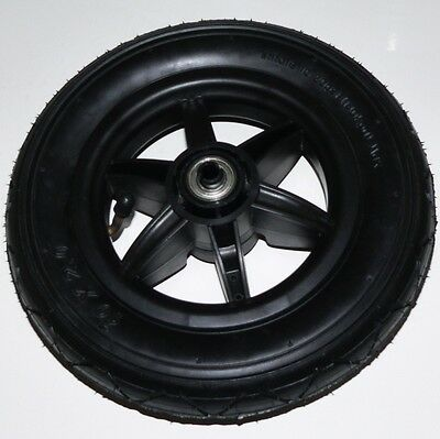 STROLLER REPLACEMENT WHEEL & TIRE 10in. x 2in. Tire with 6-Spoked Wheel Unused