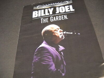 BILLY JOEL sings with eyes closed at THE GARDEN 2014 photo image PROMO AD mint