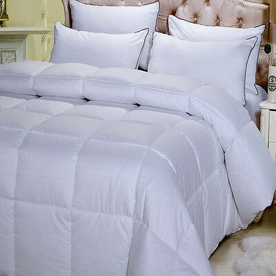 King /Calking Overfilled Dobby Woven 300 Thread Count Down Alternative Comforter