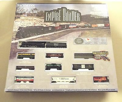 Bachmann Empire Builder N Scale Electric Train Set Complete With Extra Cars!!