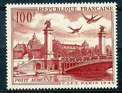 Stamp / Timbre France Neuf Poste Aerienne N° 28 ** Cote 9 €