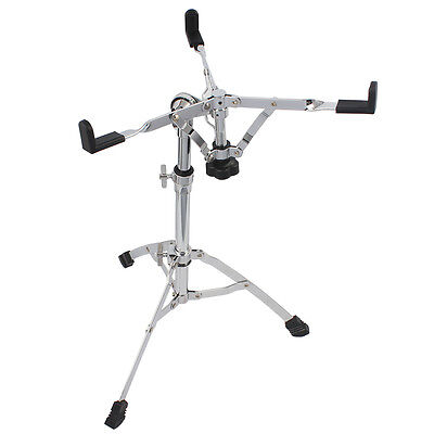 Snare Drum Stand Chrome Hardware Double Braced Holder Percussion