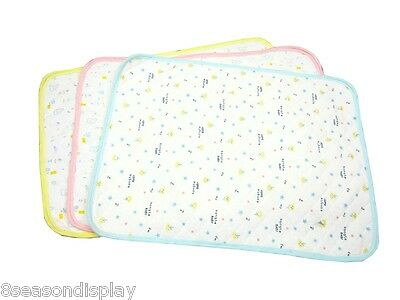 FL Reusable Baby Infant Waterproof Mat Breathable Nappy Cover Change Urine Pad