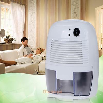 Electric Mini Air Dehumidifier Office Home Room Desk Drying Moisture Absorber