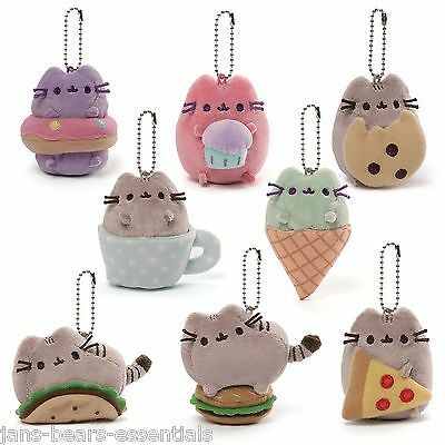 Gund - Pusheen Blind Box Series 1 - Food and Snacks  - 1 Mystery Keychain