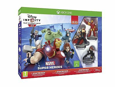 Disney Infinity 2.0 Marvel Superheroes Starter Pack Xbox One New And Sealed