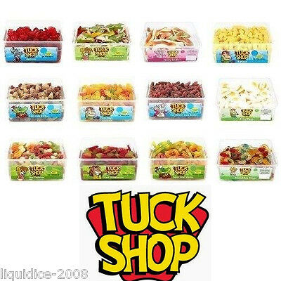 2 X Full Tubs Tuck Shop Sweets Wholesale Discount Favours Treats Party Candy Box