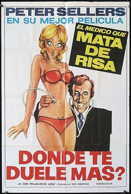912 WHERE DOES IT HURT Argentinean '72 different art of doctor Peter Sellers