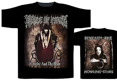 CRADLE OF FILTH - Cruelty and the beast T-Shirt Größe / Size M L XL