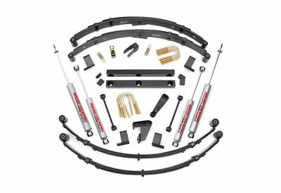 """Rough Country 4.0"""" Suspension Lift Kit Jeep Wrangler YJ 4WD 620N2"""