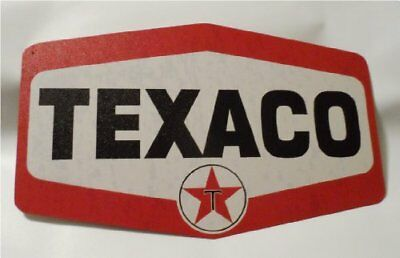 Texaco Gas Station Sign, Nostalgic Looking Service Oil Station Retro Metal Sign