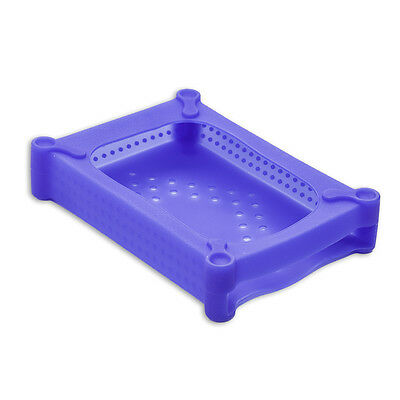 """3.5"""" SATA/IDE HD Soft Gel Protector Cover, Protective Soft Silicone Skin, Blue"""