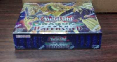 Yu-Gi-Oh Dragons Legend Unleashed 1st Ed English SEALED Booster BOX #saug16-56