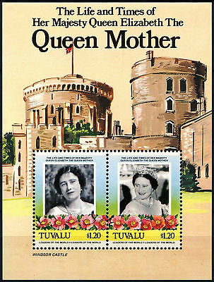 Tuvalu 1985 SG#MS342 The Queen Mother MNH M/S #D33423