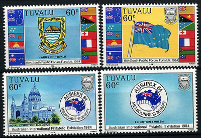 Tuvalu 1984 SG#269-272 Ausipex Stamp Exhibition MNH Set #D33378